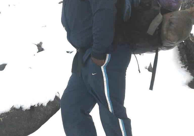 Mt. Kenya climbing